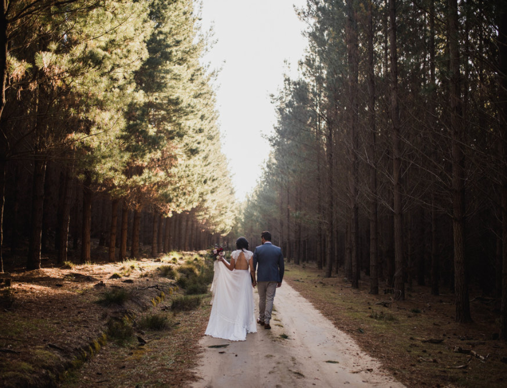 Styled Shoot – Love in the forest